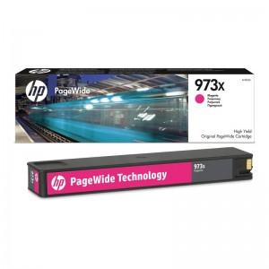 Cartouche d'encre Originale Magenta  HP 973X PageWide