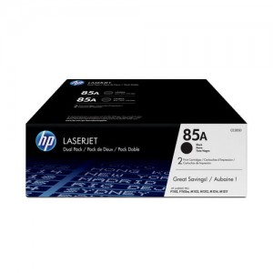 Pack de 2 cartouches de toner Noir Original HP CE285A (HP 85A)