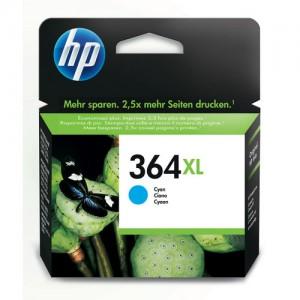 Cartouche d'encre Cyan Original HP CB323EE (HP 364XL)