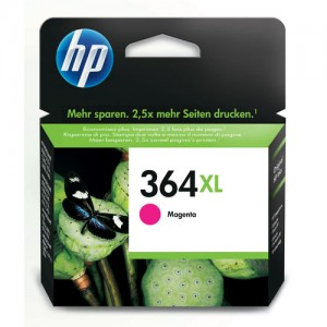 Cartouche d'encre Magenta Original HP CB324EE (HP 364XL)