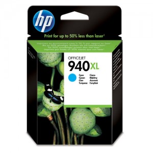 Cartouche d'encre Cyan Original HP 940XL (C4907AE)