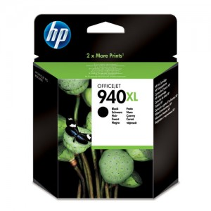 Cartouche d'encre Noir Original HP C4906AE (HP 940XL)