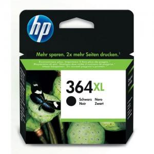 Cartouche d'encre noire originale HP CN684EE (364XL)