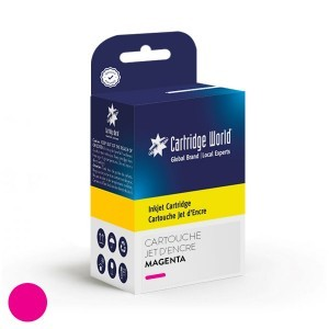 Cartouche d'encre magenta Cartridge World compatible Ricoh GC41