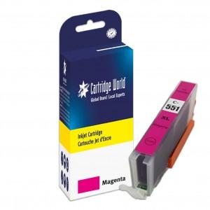 Cartouche d'encre Magenta Cartridge World compatible Canon CLI-551XL