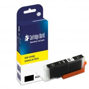 Cartouche d'encre noir Cartridge World compatible Canon CLI-581XXLBK