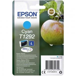Cartouche d'encre Cyan Original Epson C13T12924012 (T1292)