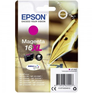 Cartouche d'encre Magenta Original Epson C13T16334012 (T1633)