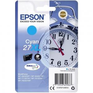 Cartouche d'encre Cyan Original Epson C13T27124012 (27XL)