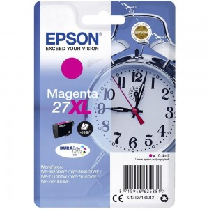 Cartouche d'encre Magenta Original Epson C13T27134012 (27XL)
