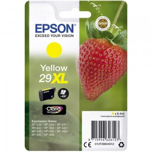 Cartouche d'encre Jaune Original Epson C13T29944012 (29XL)
