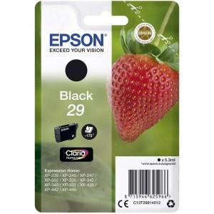 Cartouche d'encre Noir Original Epson C13T29814012 (T29)