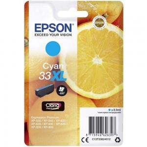 Cartouche d'encre Cyan Original Epson C13T33624012 (33XL)