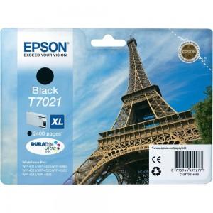 Cartouche d'encre Noir Original Epson C13T70214010 (T7021 XL)