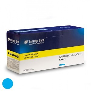 Cartouche de toner cyan Cartridge World compatible Canon 054H