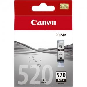 Cartouche d'encre Noir Original Canon PGI-520BK (2932B001)