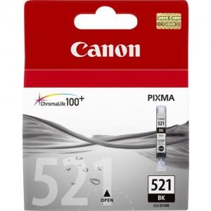 Cartouche d'encre noire originale Canon 2933B001 (CLI-521BK)