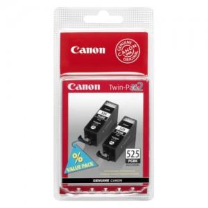 Pack de 2 cartouches d'encre Noir pigmenté Original Canon 4529B010 (PGI-525PGBK)