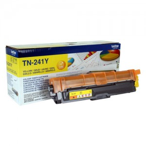 Cartouche de toner Jaune Original Brother TN241Y
