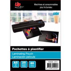 25 Pochettes A5 80mm pour Plastifieuse