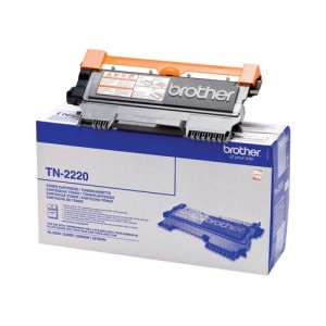 Cartouche de toner Noir Original Brother TN-2220