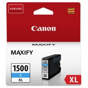 Cartouche d'encre Cyan Original Canon 9193B001 (PGI-1500XL C)