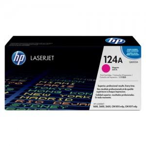HP 124A toner LaserJet magenta authentique