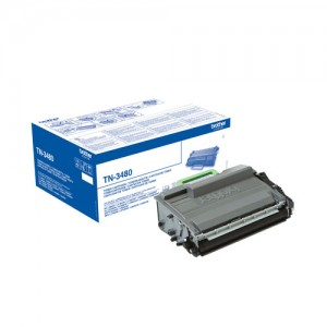 Cartouche de toner Noir Original Brother TN-3480
