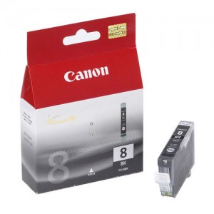 Cartouche d'encre Noir Original Canon 0620B001 (CLI-8BK)
