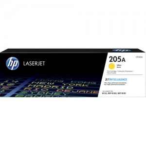 HP 205A 201A toner LaserJet Jaune authentique