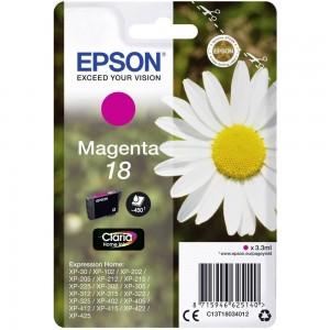 Cartouche d'encre Magenta Original Epson C13T18034012 (T1803)