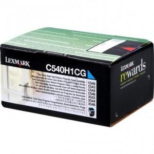 Cartouche Toner Cyan Original LEXMARK C540H1CG