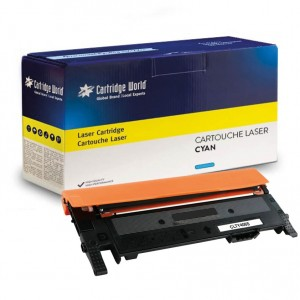Cartouche de toner Cyan Cartridge World compatible Samsung CLT-C406S
