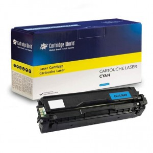 Cartouche de toner Cyan Cartridge World compatible Samsung CLT-C504S