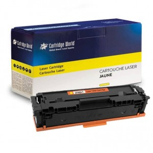 Cartouche de toner Jaune Cartridge World compatible HP 203X (CF542X)