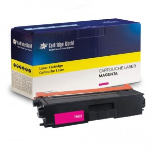 Cartouche de toner Magenta Cartridge World compatible Brother TN-421 / TN-423 / TN-426