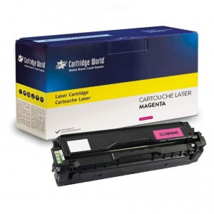 Cartouche de toner Magenta Cartridge World compatible Samsung CLT-M504S