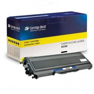 Cartouche de toner Noir Cartridge World compatible Brother TN2120/TN2110