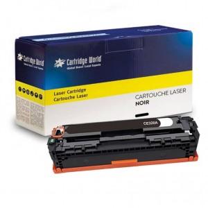Cartouche de toner Noir Cartridge World compatible HP 128A (CE320A)