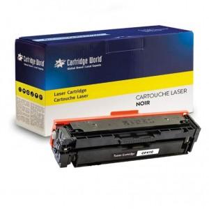 Cartouche de toner Noir Cartridge World compatible HP 410X (CF410X)