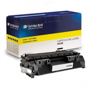 Cartouche de toner Noir Cartridge World compatible HP CF280A