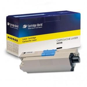 Cartouche de toner Noir Cartridge World compatible Oki 46508712