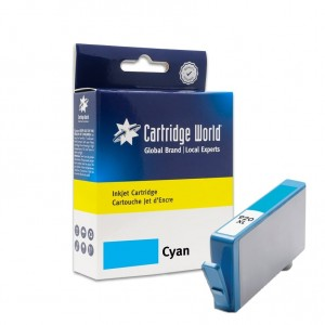Cartouche d'encre Cyan Cartridge World compatible HP 920XL (CD972AE)