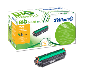 Cartouche de toner Noir Pelikan Bio Based compatible HP CE285A
