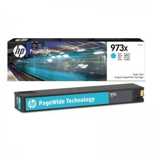Cartouche d'encre Originale Cyan  HP 973X PageWide