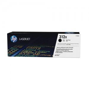 Cartouche de toner Noir Original HP CF380X (HP 312X)
