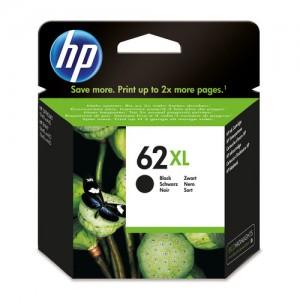 Cartouche d'encre grande capacité Noir Original HP C2P05AE (HP 62XL)