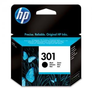 Cartouche d'encre noire originale HP CH561EE (301)