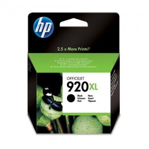 HP 920XL cartouche d'encre noir grande capacité authentique