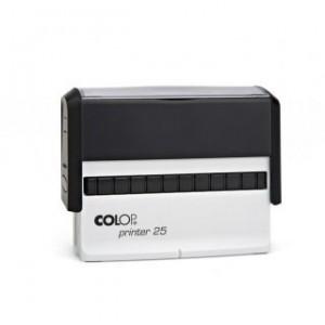 Tampon personnalisable long Printer 25 - COLOP - 3 lignes
